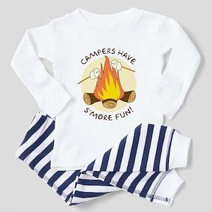 """""""S'more Fun"""" Toddler Pajamas"""