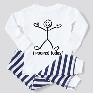 I Pooed Today! Toddler Pajamas