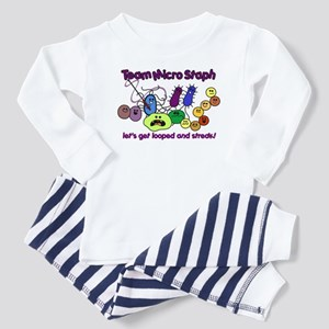 I Love Bacteria Toddler Pajamas