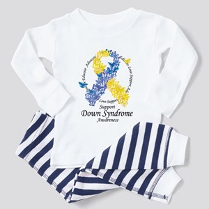 DS Butterfly Ribbon Toddler Pajamas