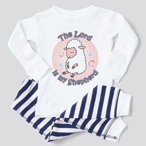 Lord Is My Shepherd Toddler Pajamas