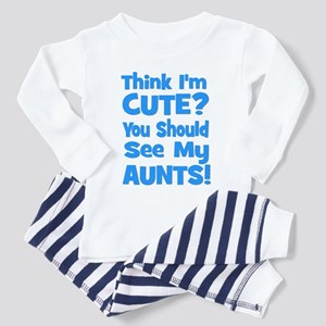 Think I'm Cute? AuntS (plural Toddler T-Shi