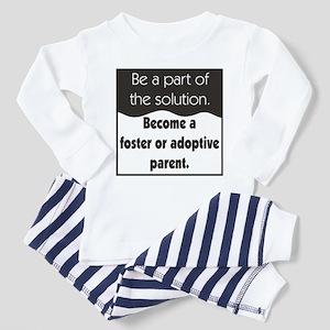 Foster Care and Adoption Toddler Pajamas