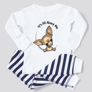 Tan Chihuahua IAAM Toddler Pajamas