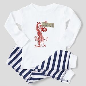 London lion Toddler Pajamas