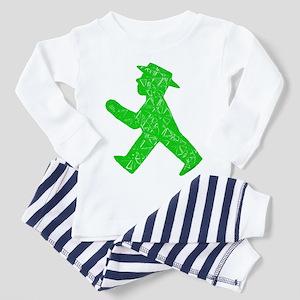 """Berlin """"Go"""" Sign Toddler Pajamas"""