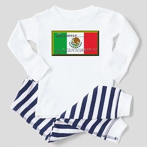 Big_flag_of_mexico4 Pajamas