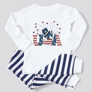 USA Fireworks Toddler Pajamas