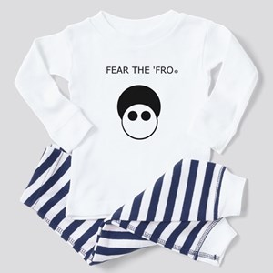 Fear the 'Fro Toddler Pajamas