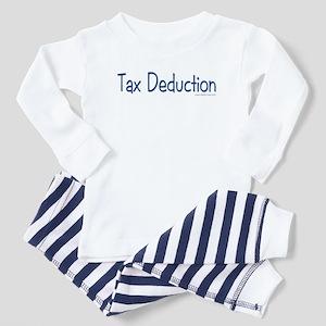 """Tax Deduction"" Toddler Pajamas"