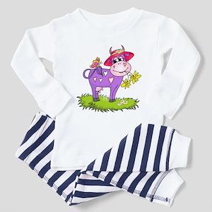 Purple Cow & Red Hat Toddler Pajamas