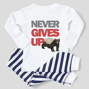 Honey Badger Don't Care Toddler Pajamas