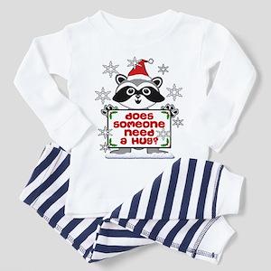 Does Someone Need A Hug Elf O Toddler Pajamas