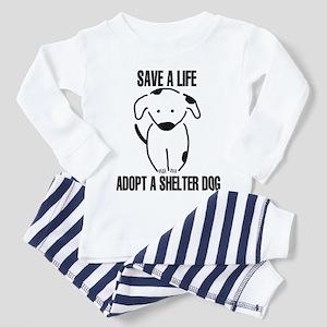 Adopt A Dog Toddler Pajamas