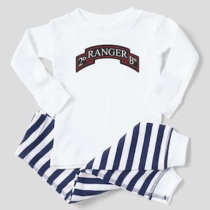 2D Ranger BN Scroll Toddler Pajamas