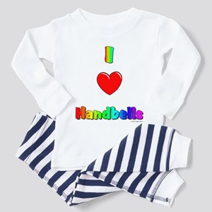 I love handbells Toddler Pajamas