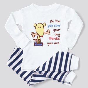 Be The Person (Dog) Toddler Pajamas