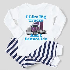 I Like Big Trucks Western Star Toddler Pajamas