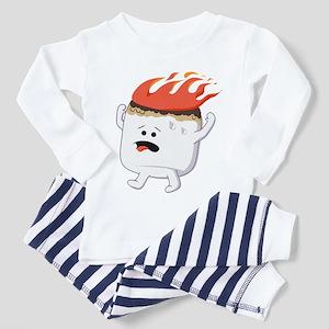 Marshmallow Toddler Pajamas