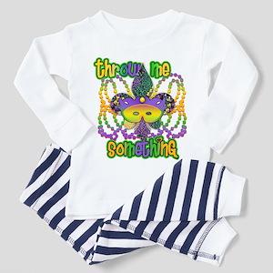 Throw Me Something Fleur Toddler Pajamas