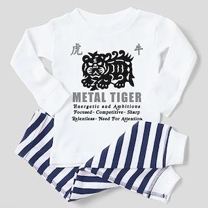 Year of The Metal Tiger Toddler Pajamas