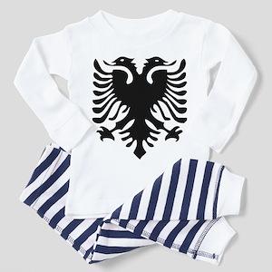 Albanian Eagle Toddler Pajamas