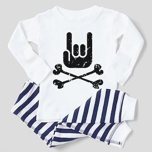 Rock Pirate Toddler Pajamas