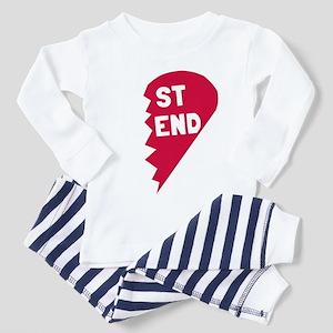 Best Friend Toddler Pajamas