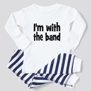 I'M WITH THE BAND Toddler Pajamas