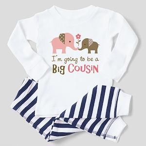 Big Cousin - Elephant Toddler Pajamas
