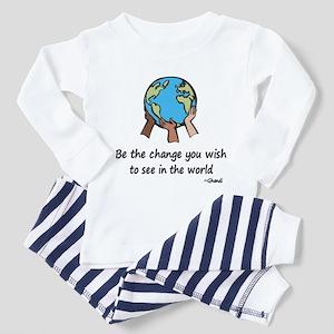 Be the Change Toddler Pajamas