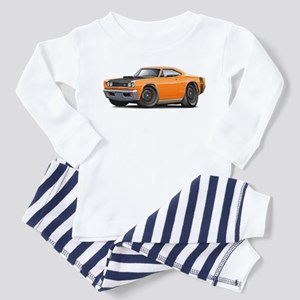 1969 Super Bee A12 Orange Toddler Pajamas