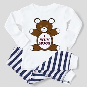 Supernatural 'I wuv hugs' Toddler Pajamas