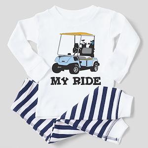 Golf Cart is My Ride  Toddler Pajamas