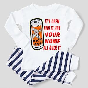 Open Can Of Kick Ass Toddler Pajamas