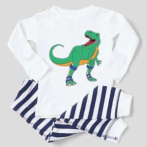 Dino with Leg Braces Toddler Pajamas
