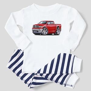Ram Red Dual Cab Toddler Pajamas