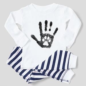 Lobo Paw Print Toddler Pajamas