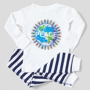 World Peace Toddler Pajamas