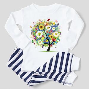 summer tree Toddler Pajamas