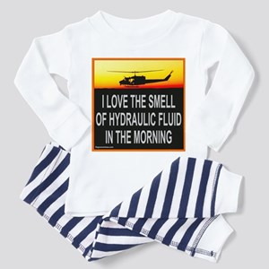 SMELL OF HYDRAULIC FLUID Toddler Pajamas