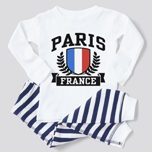 Paris France Toddler Pajamas