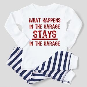 Stays In The Garage Toddler Pajamas