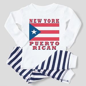 New York Puerto Rican Toddler Pajamas