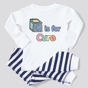 C is for Cure (block) Baby / Toddler Pajamas