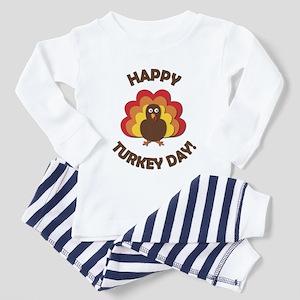 Happy Turkey Day! Toddler Pajamas