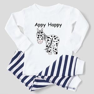 Appy Happy, Leopard Appaloosa Toddler T-Shi