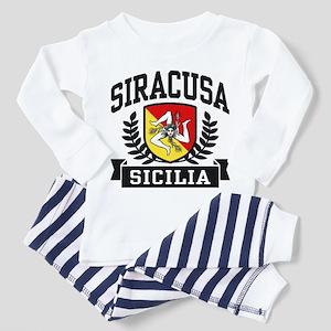 Siracusa Sicilia Toddler Pajamas
