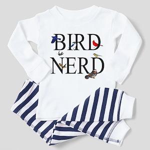 Bird Nerd Toddler Pajamas