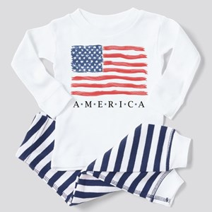 American flag Baby / Toddler Pajamas